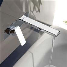 Luca Chrome Finish Waterfall Bathroom Faucet