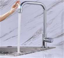 Fontana Sénart Tap Faucet Single Handle Cold Kitchen with Sensor Touch Faucet in Chrome