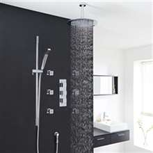 Atlantic Massage Shower System Large Shower Head