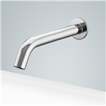 Riviera Commercial Automatic Wall Mount Chrome Sensor Bathroom Faucet