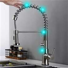 Kitchen Touch Sink Faucet with Pull Out Sprayer