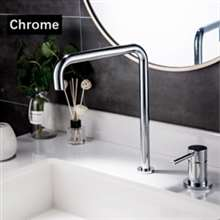 Fontana Basin Faucet Kitchen Sink Faucet Matte Black Hot Cold Water Mixer Tap