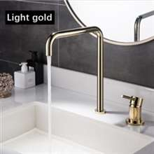 Fontana Basin Faucet Kitchen Sink Faucet Brushed Rose Gold Hot Cold Water Mixer Tap
