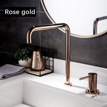 GSF Sink Faucet,Kitchen Fauct Faucet Basin Faucet Kitchen Faucet Bathroom Faucetoil Rubbed Bronze Bathroom Faucet Hands Automatic Sensor Basin Waterfall Tap