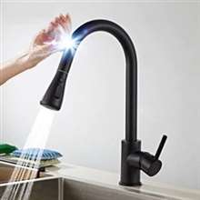 Kitchen Touch Sensor Faucet with Pull Out Sprayer