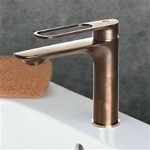Apulia Antique Brass Bathroom Sink Faucet