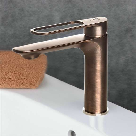 Apulia Oil Rubbed Bronze Bathroom Sink Faucet