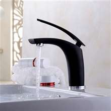Saragozza Deck Mounted LED Single Handle Bathroom Faucet