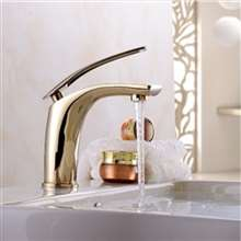 Saragozza Deck Mount LED Single Handle Bathroom Faucet