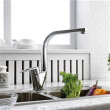 Bravat Deck Mount Single Handle Kitchen Sink Faucet