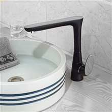 Grosseto Black Bathroom Basin Faucet