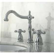 Veneto Widespread Polished Chrome Lavatory Faucet