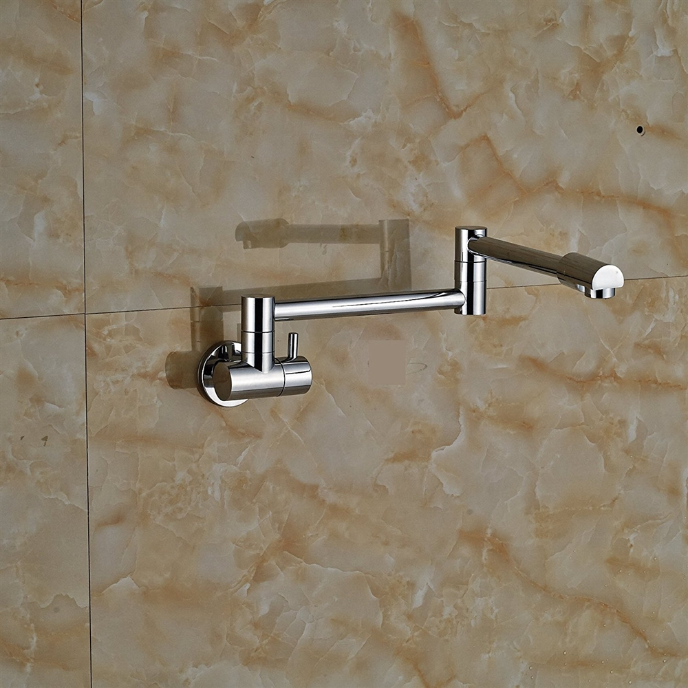 Wall Mounted Folding Kitchen Sink Faucet