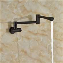 Havana Wall Mount Folding Kitchen Sink Faucet