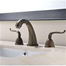 Guelma Antique Brass Bathroom Sink Faucet
