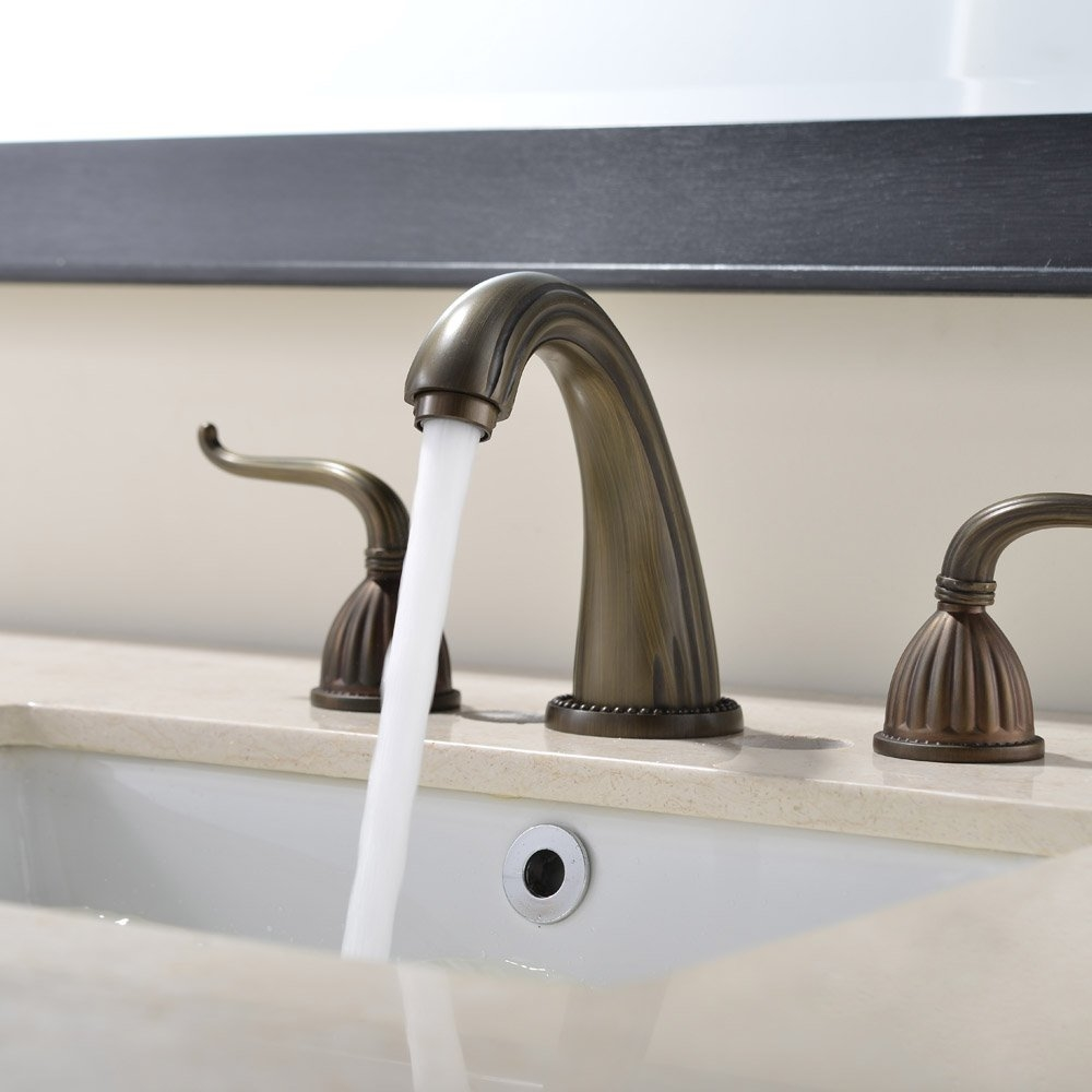 antique haywood widespread bathroom two delta faucet detail faucets polished asp handle lg chrome