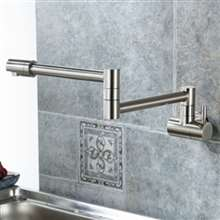Annaba Wall Mounted Double Joint Kitchen Sink Faucet