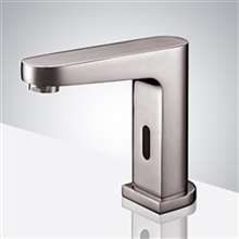 Hagios Commercial Automatic Brushed Nickel Finish Sensor Faucet