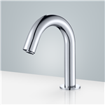 Brio Commercial Chrome Touchless Volume Sensor Hands Free Faucet