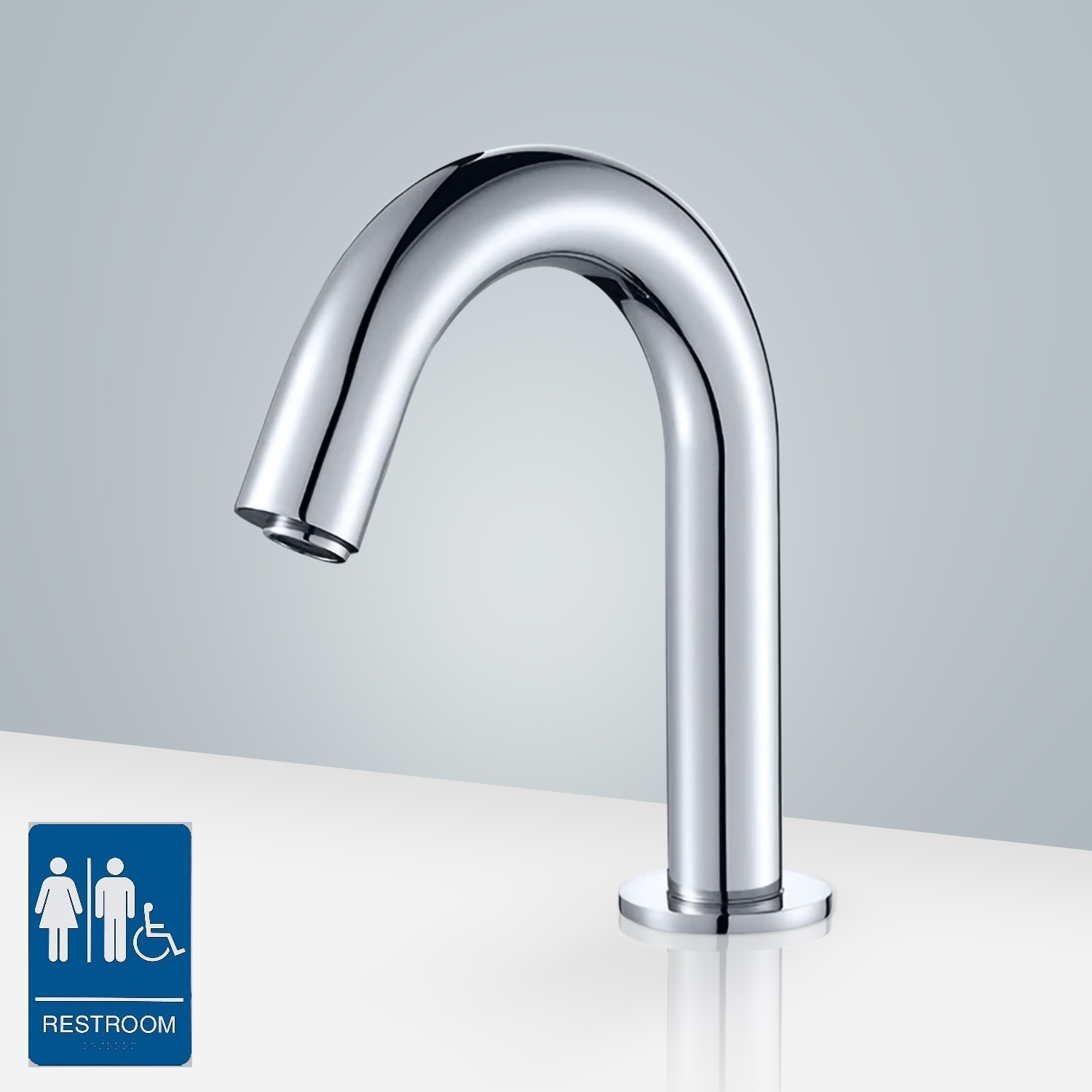 free faucet dhgate bathroom glenae touch waterfall sensor from hands tap sense automatic infrared com product wholesale water chrome