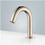 Brio Commercial Brushed Nickel Touchless Volume Sensor Hands Free Faucet