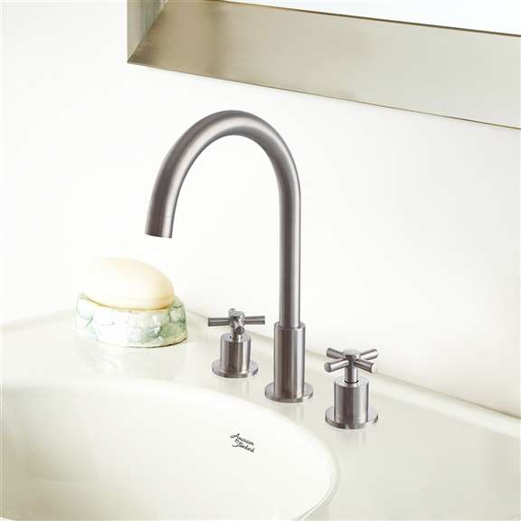 Clara Dual Handle Deck Mounted Bath Tub Faucet