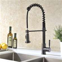 Jiguani Oil Rubbed Bronze Kitchen Sink Faucet