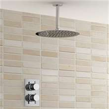 Lenox Shower Set Shower Ultra Thin Shower Head with Built in Thermostatic Valve Shower Mixer