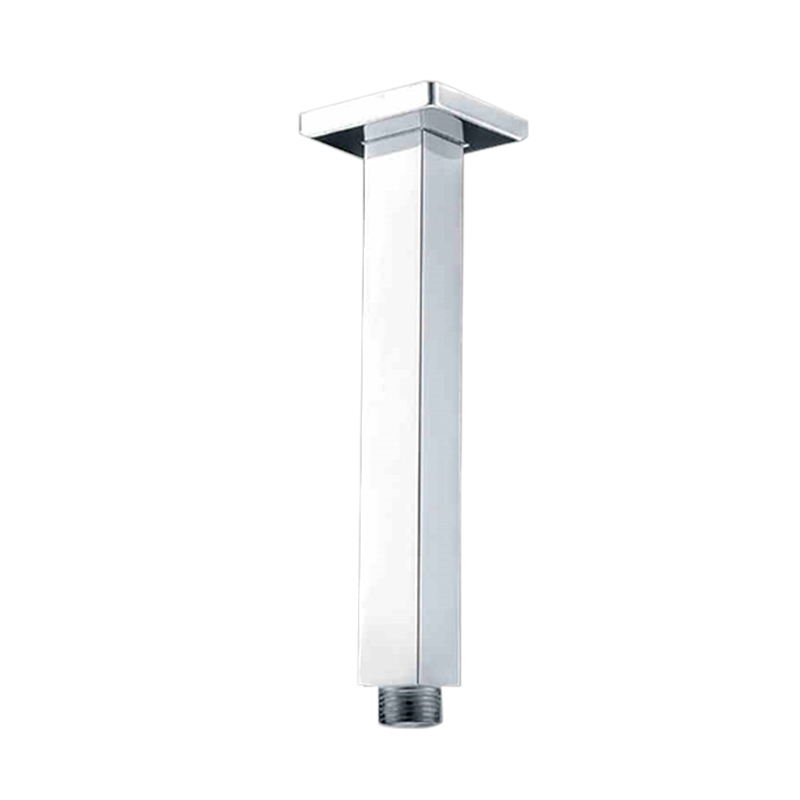 Fontana Luxurious Solid Br Chrome Overhead Shower Bar Square Ceiling Mounted Arm
