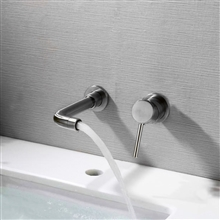Varese Contemporary Wall Mount Chrome Faucet