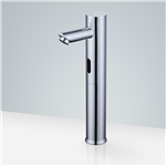 Velia Chrome Finish Automatic Bathroom Sink Faucet