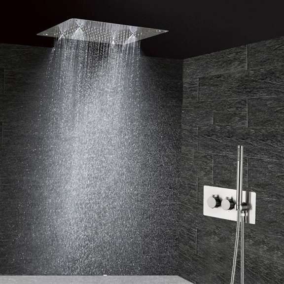 Lenox Modern recessed Thermostatic Shower Set