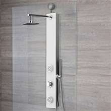 Loreto Tempered Glass Multi-Functional Shower Panel System
