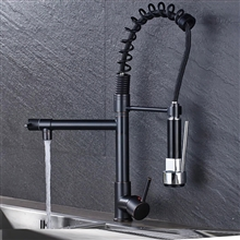 Vienna Classico Deck Mount Kitchen Sink Faucet with Pull Down Sprayer