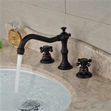 Fontana Dreux Oil Rubbed Bronze Sink Faucet