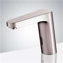 Fabiano Commercial Brushed Nickel Automatic Electronic Faucet with CUPC Approved