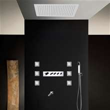 FontanaShowers Thermostatic Copper Recessed Shower System