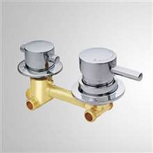 Shower Mixer 2/3/4/5 way Shower Mixing Valve Cold and Hot Water Switch Valve