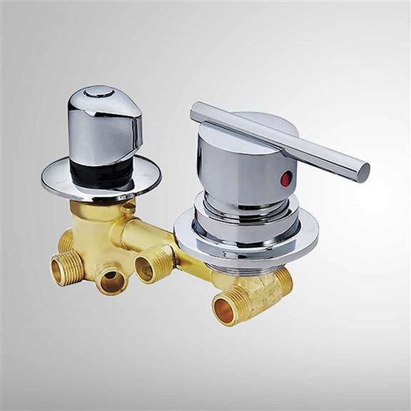 Copper shower mixing valve 2/3/4/5 way water outlet cold and hot waterFS6119CV