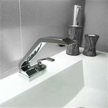 Catania Single Lever Mixer Bathroom Copper Faucet