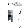 Messina Wall Mount Bathroom Rain Shower Set