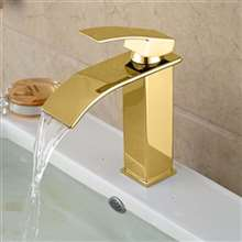 Paita Deck Mount Single Handle Bathroom Sink Faucet