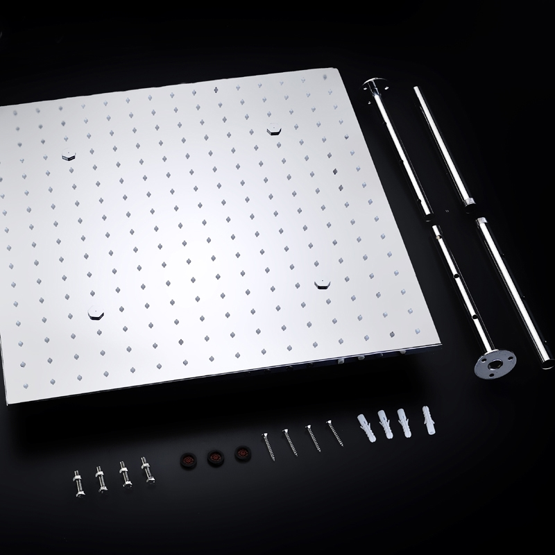 ValenciaThermostatic LED Shower System with Hand Held Shower