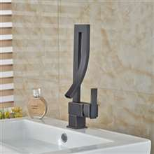 Catania Deck Mounted Bathroom Sink Faucet