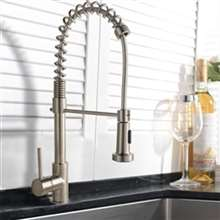 Bauta Single Handle Kitchen Sink Faucet with Pull Spray