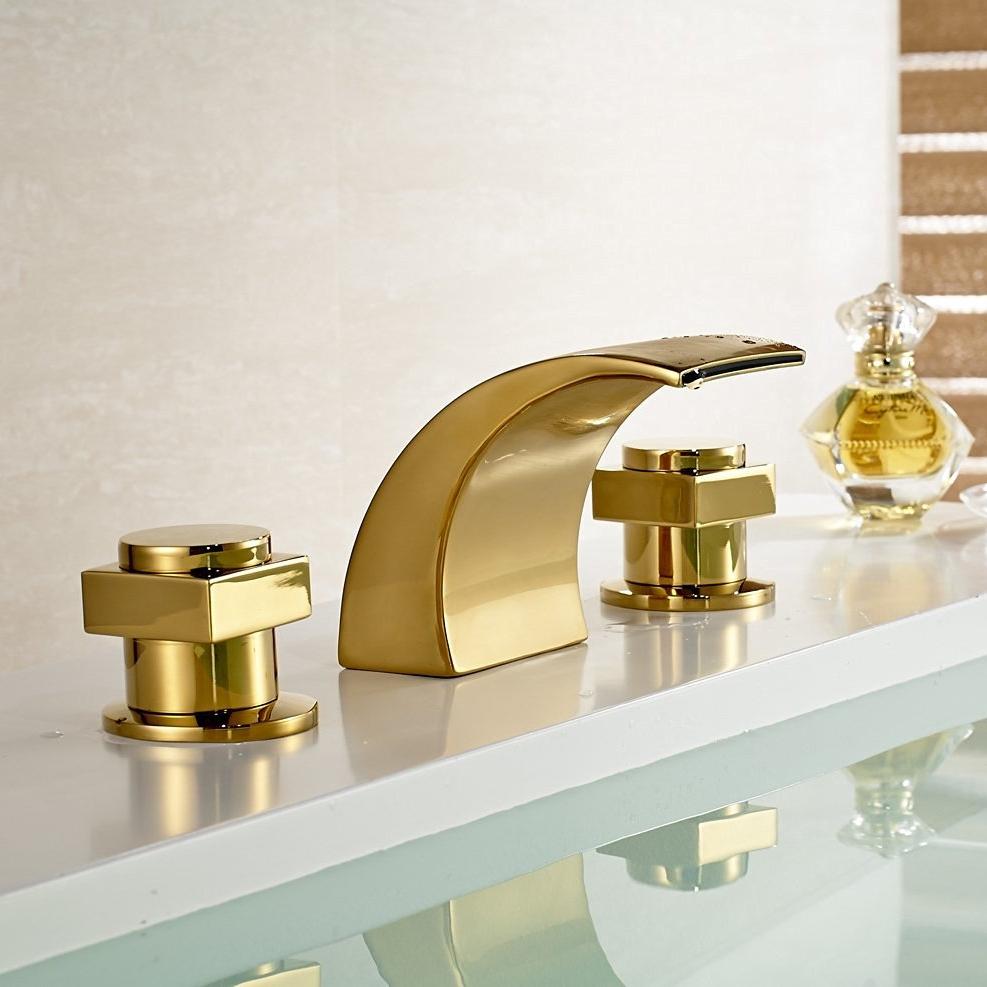 Led waterfall bathroom sink faucet - Led Waterfall Bathroom Sink Faucet 8