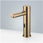 Gold Finish Touchless Automatic Sensor Faucet for commercial and residential use