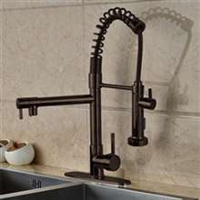Calvados Single Handle Deck Mount Kitchen Sink Faucet
