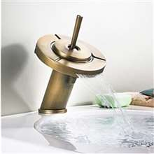 Minoan Triple Function Antique Bathroom Sink Faucet