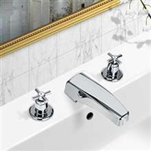 RV Travel Faucet Chrome 2-Handle ABS Material